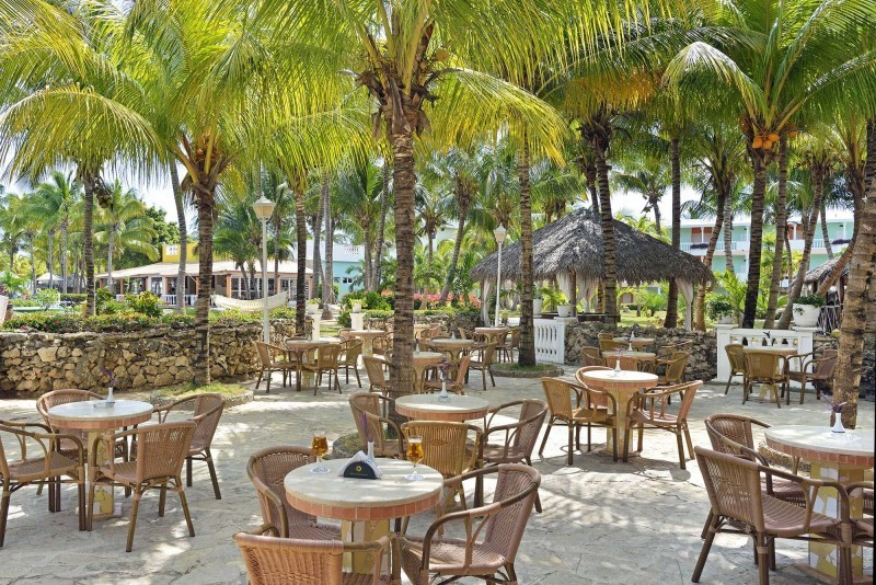 Melia Cayo Guillermo Hotel Outdoor Bar