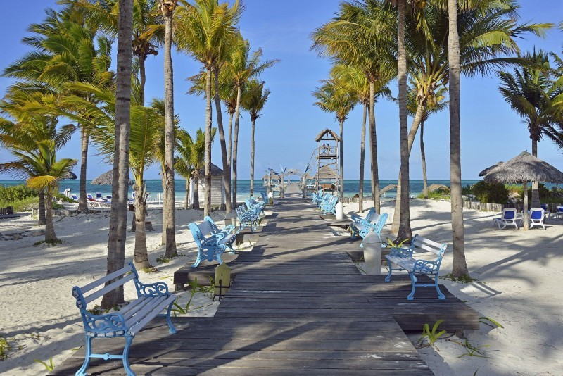 Melia Cayo Guillermo Walkway to Beach