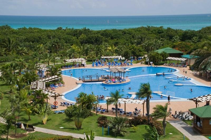Blau Varadero Aerial View Of Swimming Pool