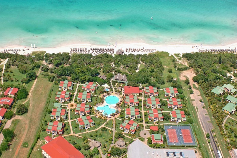 Iberostar Tainos Aerial View Of Resort