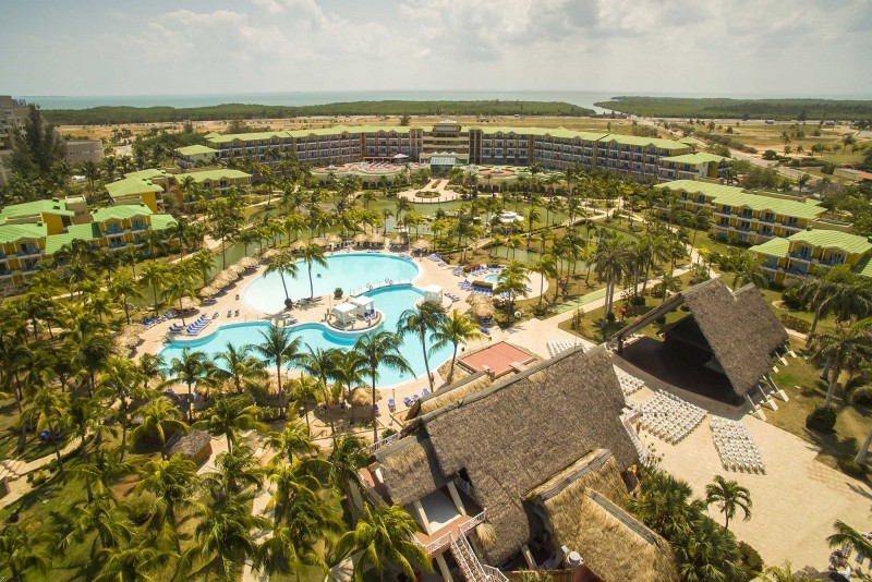 Melia Las Antillas Aerial View Of Resort