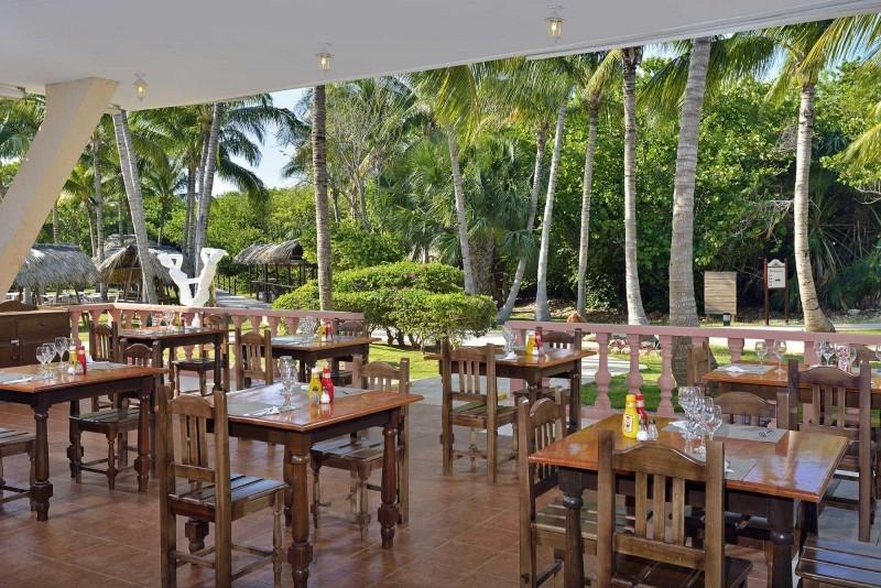 Melia Las Antillas Garden Restaurant
