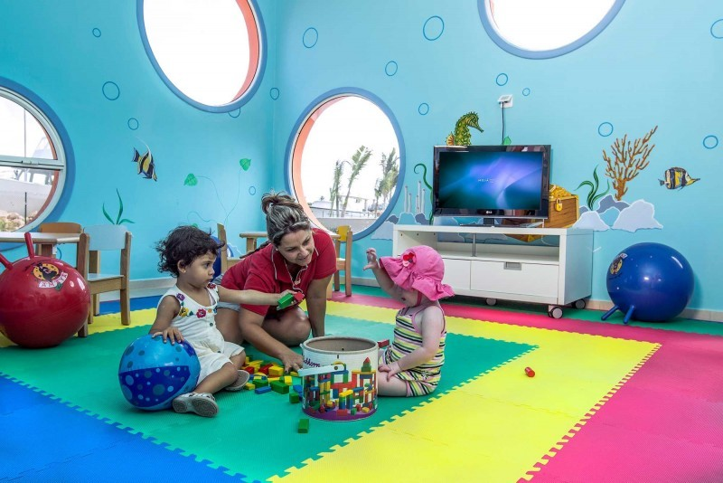 Melia Marina Childrens Indoor Play Area