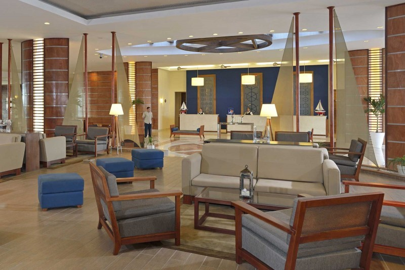 Melia Marina Hotel Reception