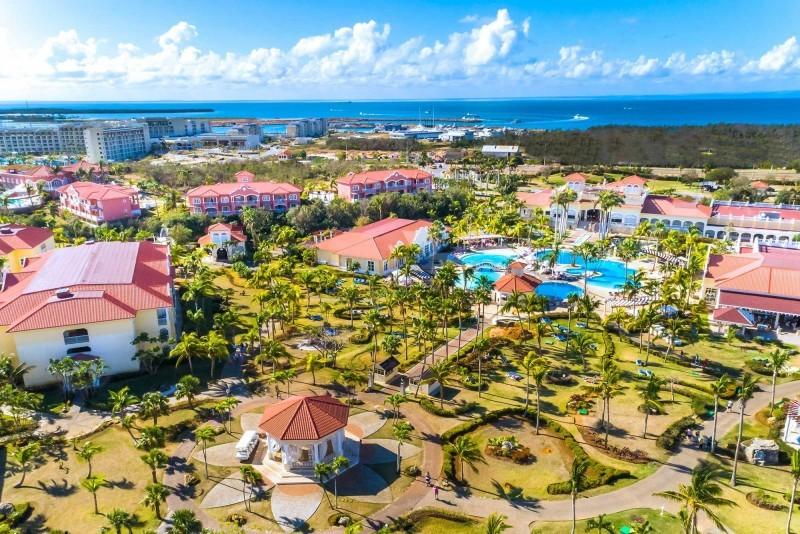 Paradisus Princesa del Mar Aerial View Of Main Hotel