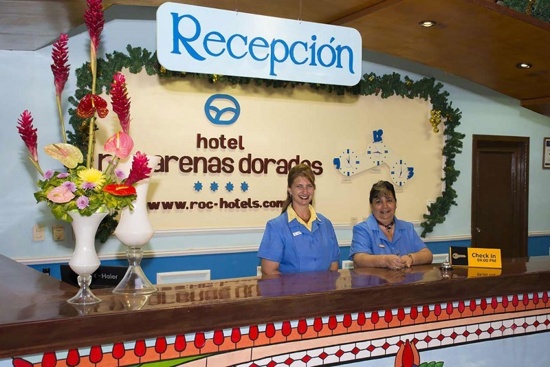 Roc Arenas Doradas Hotel Reception