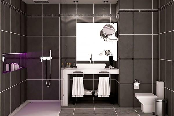 Melia San Carlos Hotel Cienfuegos Classic Room Bathroom