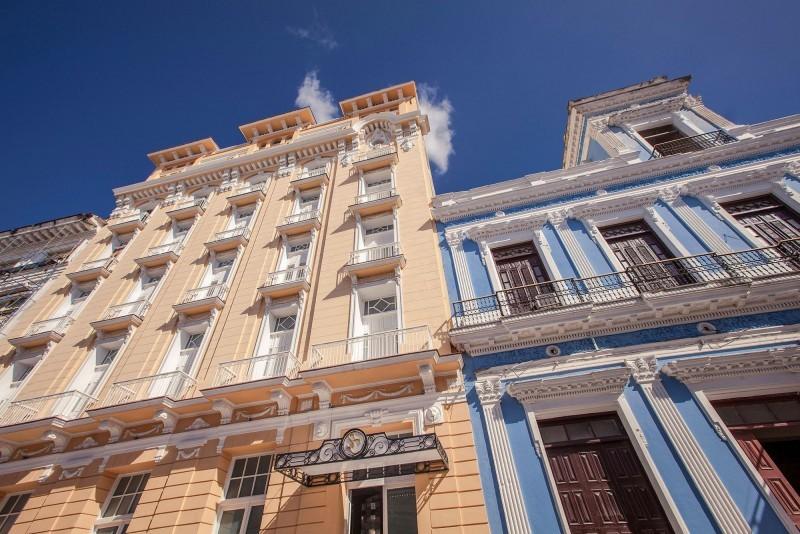 Melia San Carlos Hotel Cienfuegos External View