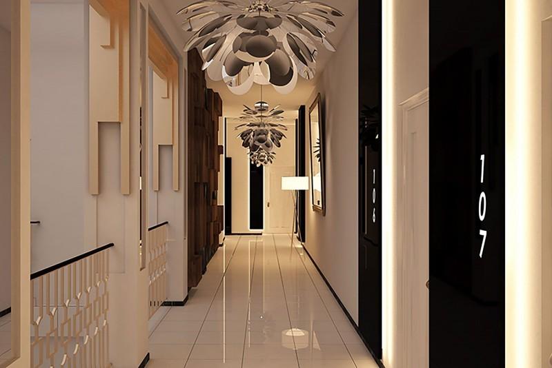 Melia San Carlos Hotel Cienfuegos Hotel Corridor