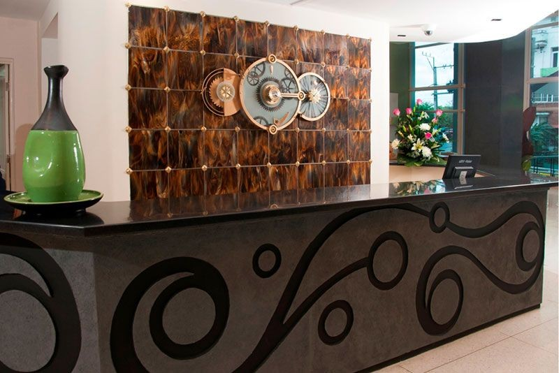 NH Capri Hotel Reception and Front Desk
