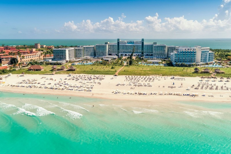 Melia Internacional Hotel Aerial View Of Beach