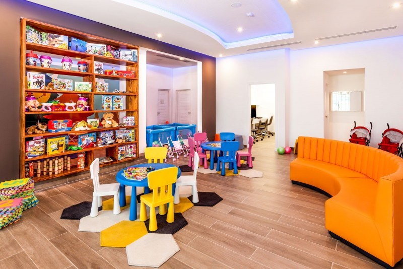 Melia Internacional Hotel Children's Club Indoor Play Area
