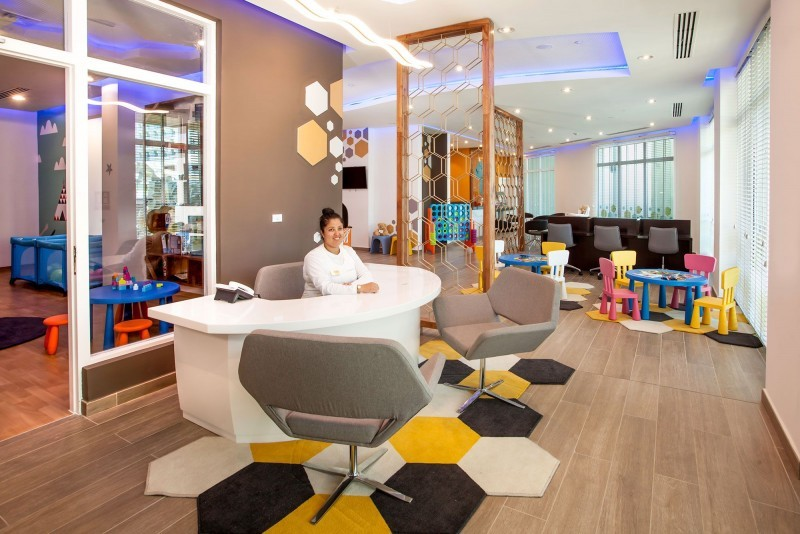 Melia Internacional Hotel Children's Club Reception
