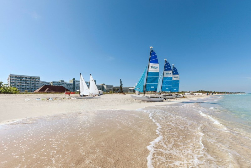 Melia Internacional Hotel Sailing Boats On Beach