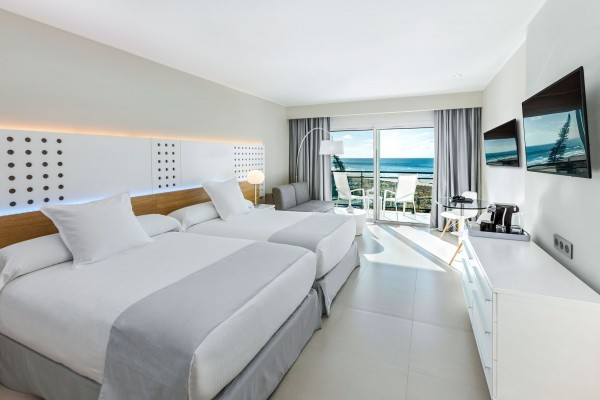 Melia Internacional Hotel The Level Classic Bedroom with Sea Views