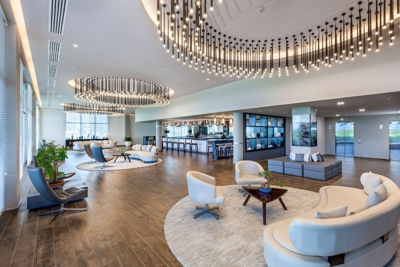 Melia Internacional Hotel The Level Lobby Bar