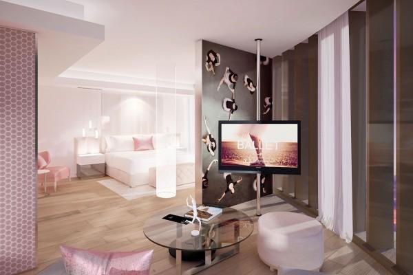 Paseo del Prado SO Suite Patio View Bedroom