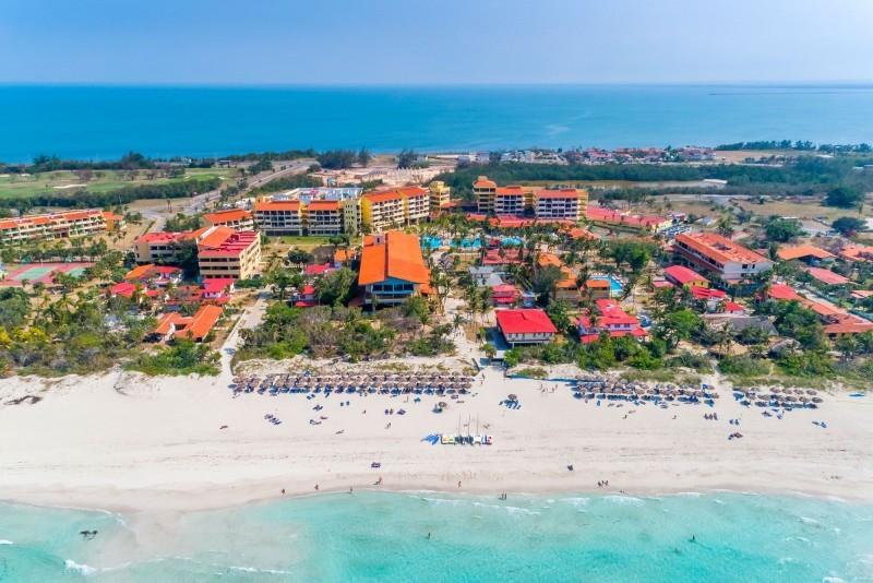 Sol Varadero Beach Aerial View Of Resort