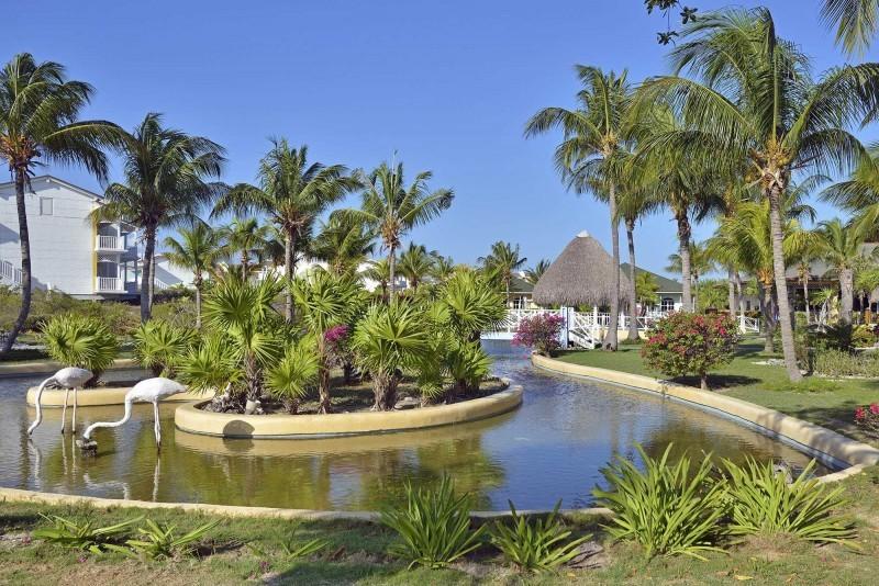 Sol Cayo Largo, Cayo Largo view of hotel grounds