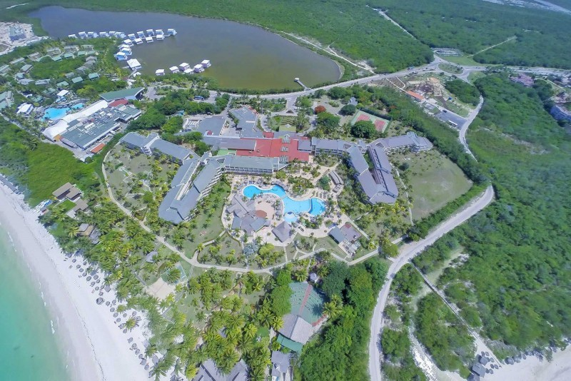 Sol Cayo Coco Aerial View of Hotel