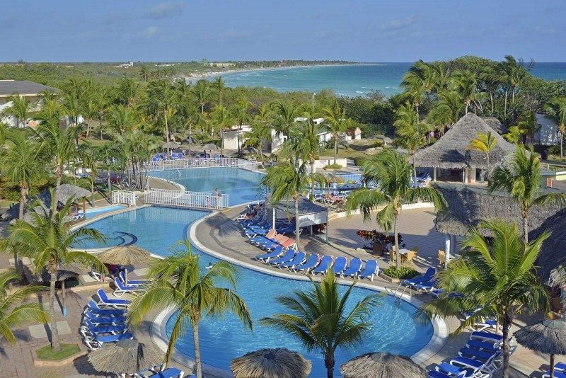 Sol Cayo Coco Aerial View of Pool