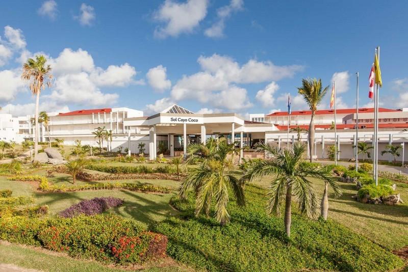 Sol Cayo Coco Hotel Entrance