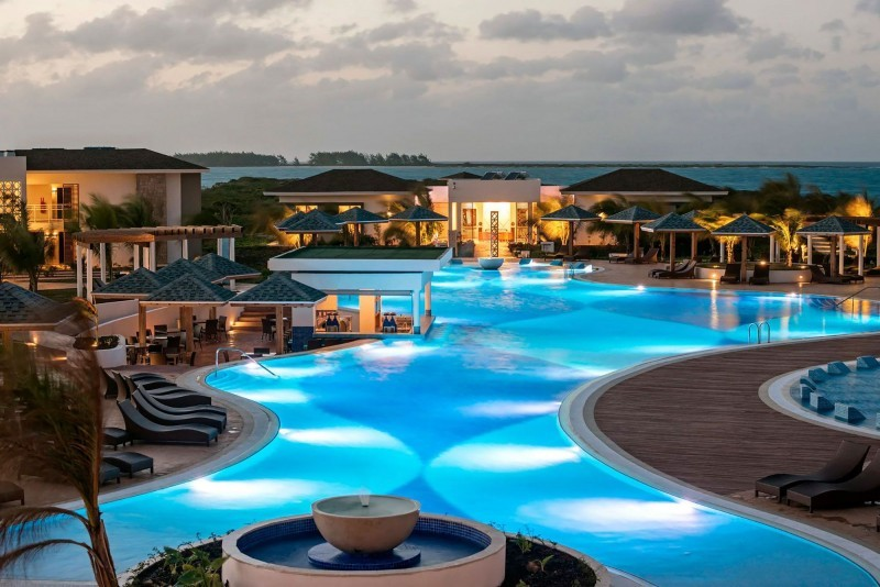 Iberostar Selection Playa Pilar Swimming Pool Evening
