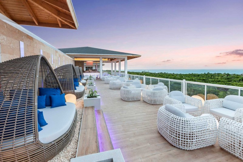 Paradisus Los Cayos, Cayo Santa Maria balcony over looking beach