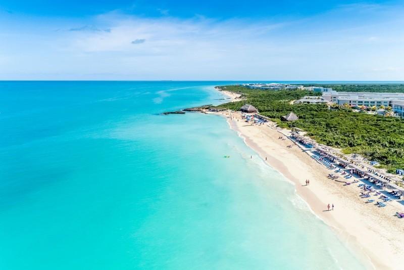 Paradisus Los Cayos Hotel Aerial View Of Beach