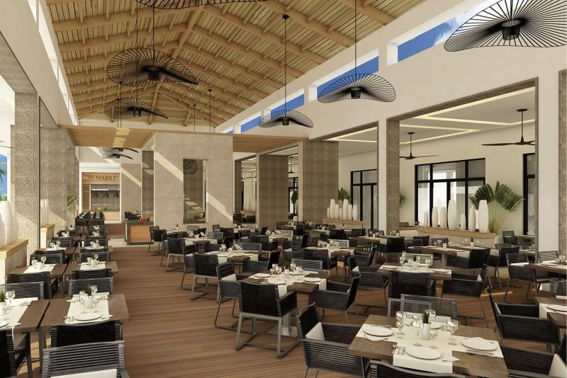 Paradisus Los Cayos Hotel Buffet Grill Snacks Restaurant