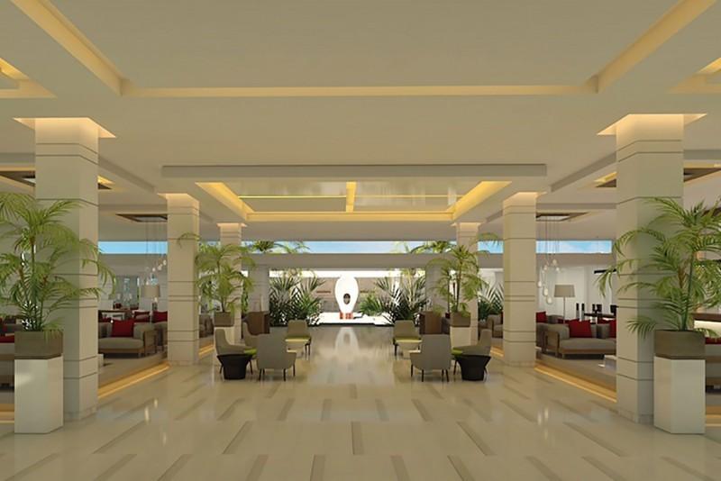 Dhawa Cayo Santa Maria hotel lobby