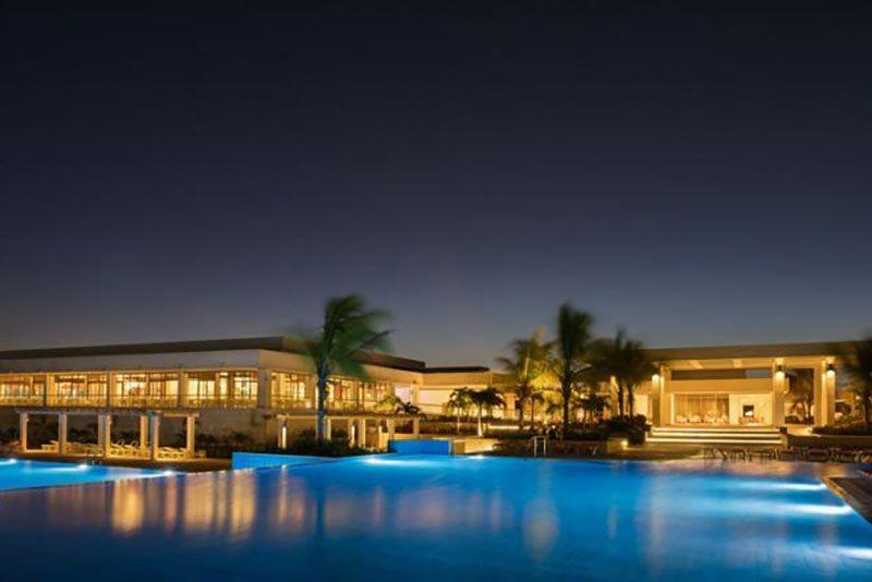 Dhawa Cayo Santa Maria Pool View Evening