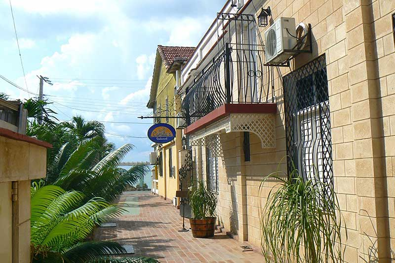 Hotel Camila, Cienfuegos, Cuba external view of hostal