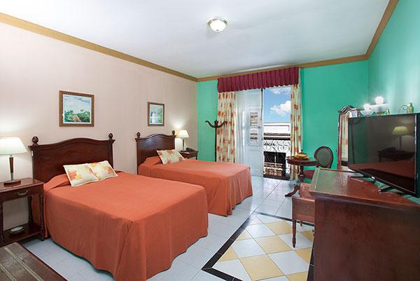 La Union Hotel, Cienfuegos, Cuba classic bedroom