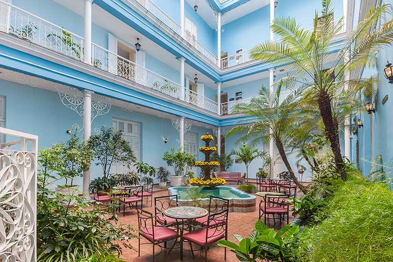 La Union Hotel, Cienfuegos, Cuba internal view of hotel