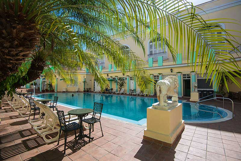La Union Hotel, Cienfuegos, Cuba outdoor pool