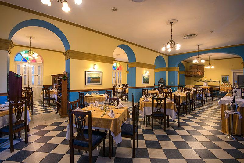 La Union Hotel, Cienfuegos, Cuba restaurant