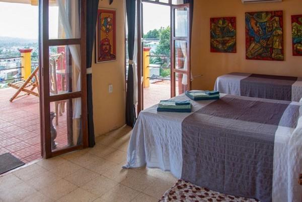 Caca Villa Paradiso Bedroom