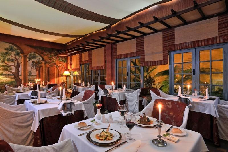 Paradisus Rio de Oro Patio Restaurant
