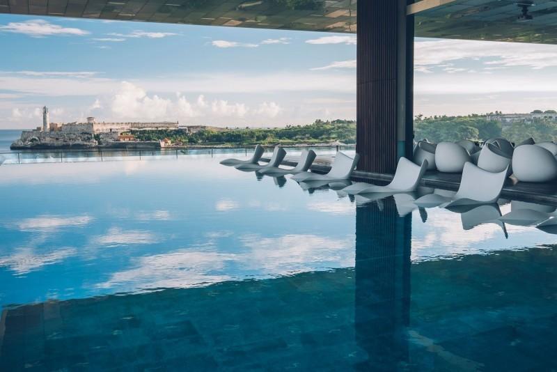 Grand Packard Hotel Havana Infinity Pool View