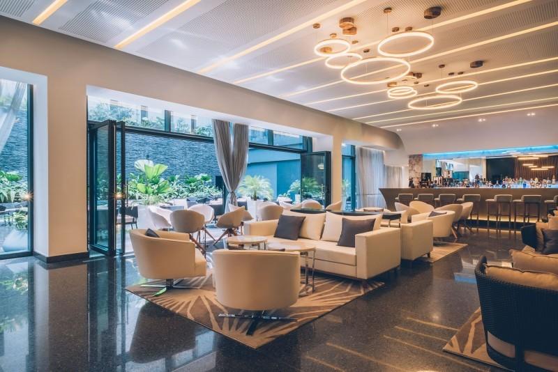 Grand Packard Hotel Havana Lobby Bar Lounge