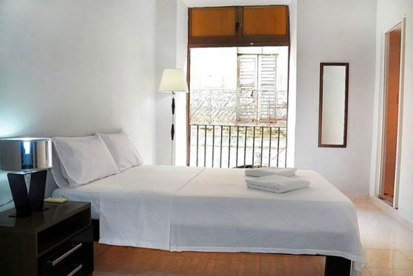 Casa Buenos Aires Havana view of bedroom and balcony