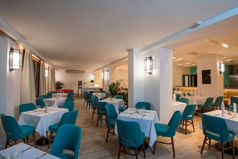 Hotel Victoria Havana dining area