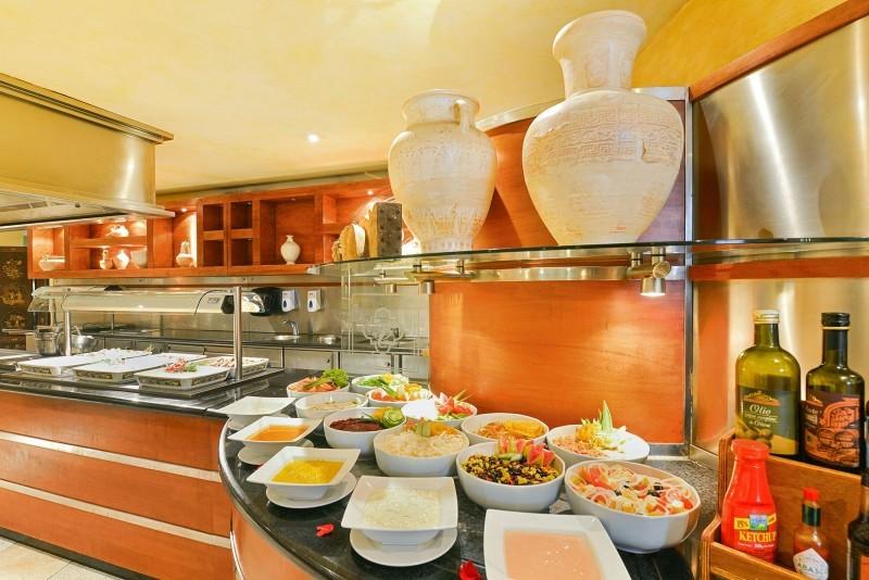 Iberostar Parque Central Havana buffet restaurant food selection