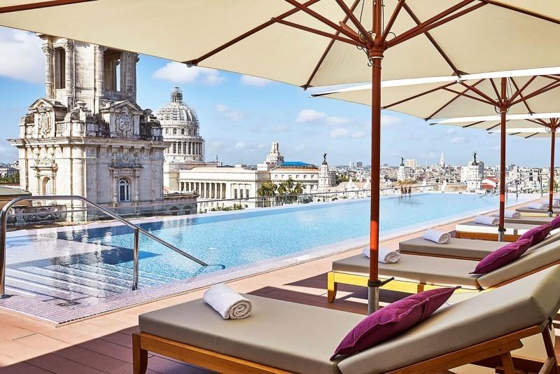 Kempinski Hotel Havana rooftop pool