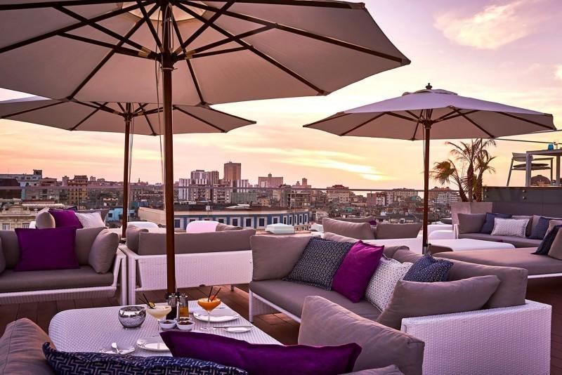 Kempinski Hotel Havana rooftop pool terrace