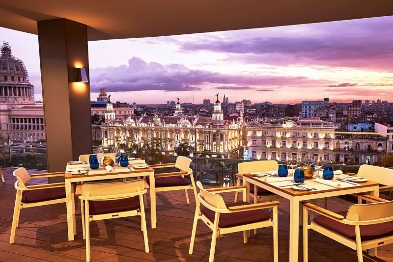 Kempinski Hotel Havana San Cristobal restaurant terrace