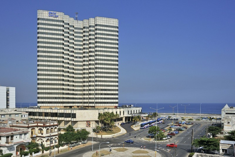 Melia Cohiba Havana external view of hotel