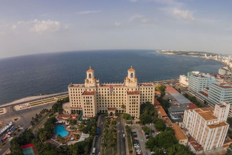 Hotel Nacional Havana Aerial View of Hotel