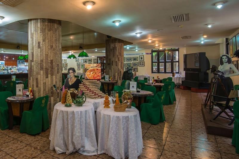 Hotel Nacional Havana Cafeteria Film Corner